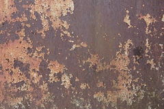 Textured metal rusty fence. Textured metal rusty fence near the brewery Stock Image