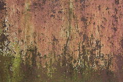 Textured metal rusty fence. Textured metal rusty fence near the brewery Royalty Free Stock Photography