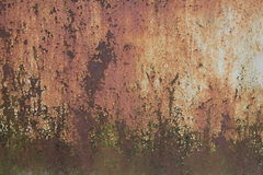 Textured metal rusty fence. Textured metal rusty fence near the brewery Stock Photo