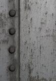 Textured metal z ryglami Zdjęcie Stock