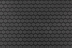 Textured surface with a hexagonal pattern Stock Image