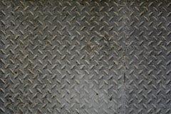 Textured metalu ośniedziały brudny tło Obraz Stock