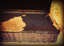 Textured Miastowy Windowsill Obraz Royalty Free
