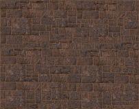 Textured natural stone foundation laid in dark pattern. Textured natural stone foundation laid in dark brown pattern Stock Images