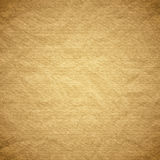 Textured obsolete crumpled packaging brown paper Stock Images