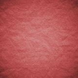 Textured obsolete crumpled packaging red paper Royalty Free Stock Photos