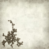 Textured old paper background Stock Photography