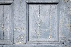Textured old wooden board of doors or gate Royalty Free Stock Image