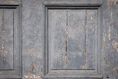 Textured old wooden board of doors or gate Royalty Free Stock Photography