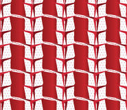 Textured ornament with red and white stripes Royalty Free Stock Images