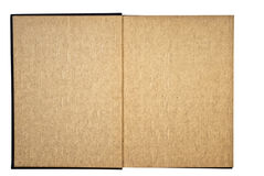 Textured Pages in a Book Stock Photography
