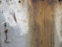 Textured Paint Stained Wood with Hook Accent Stock Images