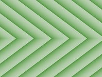 Textured Pale Green Geometric Lines Angles Symmetric Background Design. Geometric lines and angles in a symmetric repeating arrow shape pattern with gradient Stock Photography