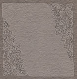 Textured paper background for note Royalty Free Stock Photos