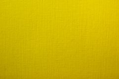 Textured paper. Yellow textured paper with burlap effect Royalty Free Stock Images