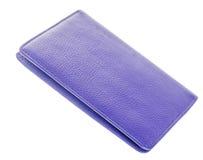 Textured paszport pokrywa Zdjęcie Stock