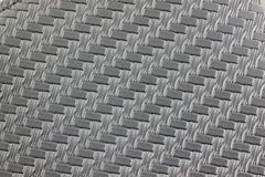 Textured and pattern of black leather. Royalty Free Stock Photography