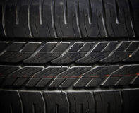 Textured pattern of tire background Royalty Free Stock Photography