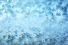 Textured patterned glass Royalty Free Stock Image
