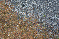 Textured pebbles background Stock Photography