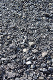 Textured pile of coal. Abstract background of pile of coal Royalty Free Stock Photos