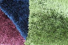 Textured pillows Stock Photography