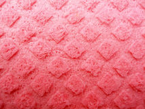 Textured pink sponge Royalty Free Stock Images