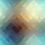 Textured pixels chevron pattern on blurred Royalty Free Stock Photos