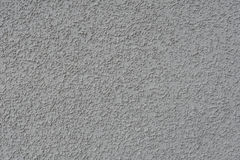 Textured plaster of a gray color Stock Photography