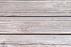 Textured pokład w brown drewnie obrazy stock
