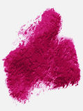 Textured purple pink paint over white background Royalty Free Stock Image