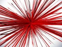 Textured radial lines spreading explosion effect. Starburst, sun. Burst pattern with grungy feel - Royalty free vector illustration stock illustration
