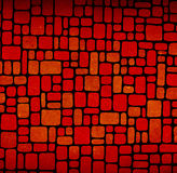 Textured random shapes tiles Stock Photography
