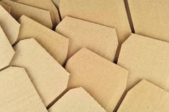Textured recycled cardboard Royalty Free Stock Images