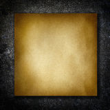 Textured recycled paper on stone Royalty Free Stock Images