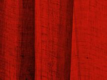Textured Red. Textured cloth in red - background abstract Stock Photography