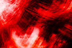 Textured Red Abstract #3 Stock Photography