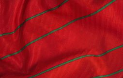Textured red cloth Royalty Free Stock Photography
