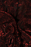 Textured red fabric Royalty Free Stock Image