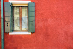 Textured red wall Royalty Free Stock Images