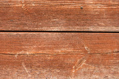 Textured red wooden wall Stock Image