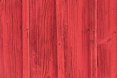 Textured red wooden wall Royalty Free Stock Photography