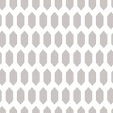 Textured rhombuses grey seamless vector pattern. Royalty Free Stock Photography