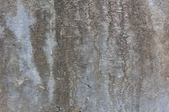 Textured Rotten Grey Wall Stock Image