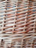 Textured rural background from the withy, twigs. Abstract composition. Close-up stock photo
