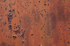 Textured rust on metal gate Java Stock Photos