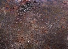 Textured rusty metal background Stock Photography