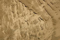 Textured Sand Royalty Free Stock Photo