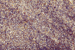 Textured sand as a natural background.  Royalty Free Stock Image
