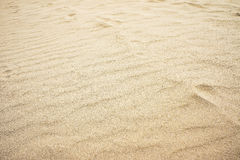 Textured sand background. In the country of thailand Royalty Free Stock Photo